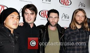 Adam Levine, James Valentine, Las Vegas and Maroon 5