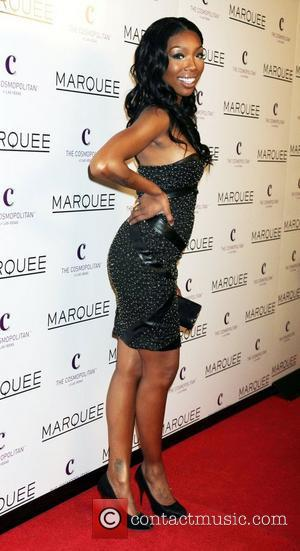 Brandy The Cosmopolitan Grand Opening and New Year's Eve Celebration at Marquee Nightclub in The Cosmopolitan Las Vegas, Nevada -...