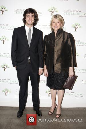 Andrew Jenks and Martha Stewart