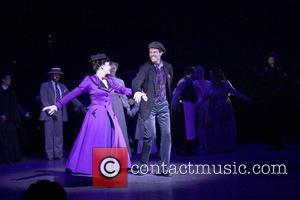 Laura Michelle Kelly, Gavin Lee and Mary Poppins
