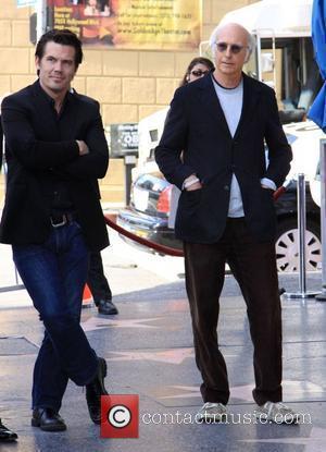 Josh Brolin and Larry David