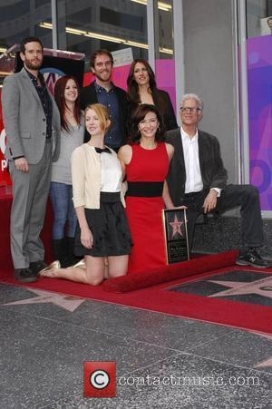 Mary Steenburgen, Ted Danson and their family Mary Steenburgen honoured with the 2,395th Star on the Hollywood Walk of Fame...