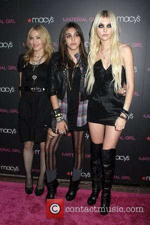 Madonna and Taylor Momsen