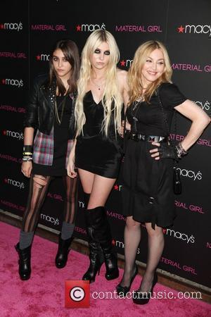 Lourdes Leon, Taylor Momsen and Madonna  'Material Girl' collection launch held at Macy's Herald Square. New York City, USA...