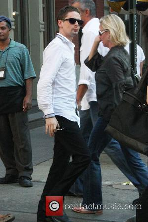 Muse frontman Matthew Bellamy  leaving John Varvatos on Spring Street in SoHo New York City, USA - 21.06.10