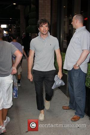 'Gossip Girl' star Matthew Settle out walking in SoHo New York City, USA - 22.07.10