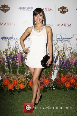 Aimee Garcia Maxim Hot 100 Party With Harley-Davidson, Absolut Vodka, Ed Hardy Fragrances and Rogaine held At Paramount Studios Los...