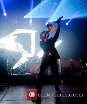Paul Smith of Maximo Park perform at the Warehouse Project. Manchester, England - 23.09.10