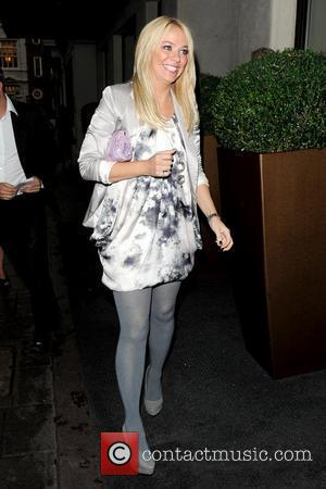 Liz McClarnon outside the May Fair hotel London, England - 26.08.10