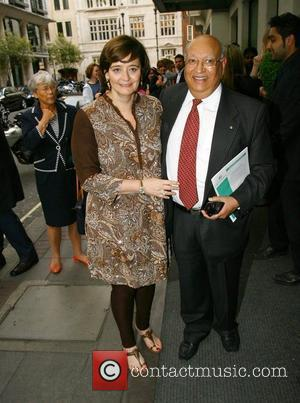 Cherie Blair outside the May Fair Hotel London, England - 27.05.10