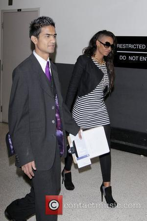 Mel B, Aka Mel B and Her Husband Arrive At Lax Airport On A Virgin Atlantic Flight From London Heathrow.