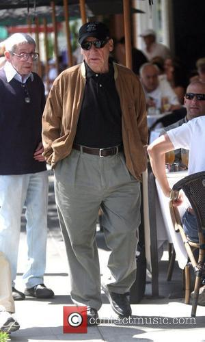 Mel Brooks has lunch in Beverly Hills with friends Los Angeles, California - 02.07.10