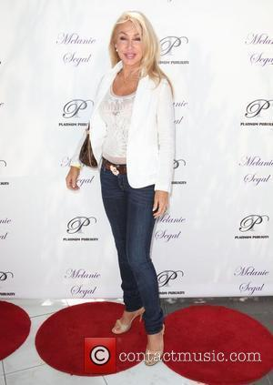 Linda Thompson Melanie Segal celebrity retreat in honor of the 2010 MTV Music awards held at the SLS hotel Los...