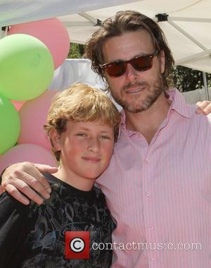Dean Mcdermott and His Son