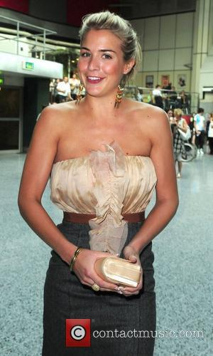 Gemma Atkinson arrives at the MEN Arena celebrating its 15th birthday Manchester, England - 15.07.10