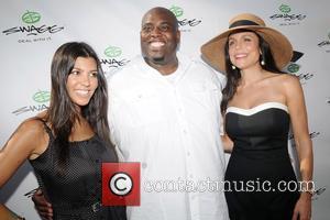 Kourtney Kardashian, Dj Mel De Barge and Bethenny Frankel