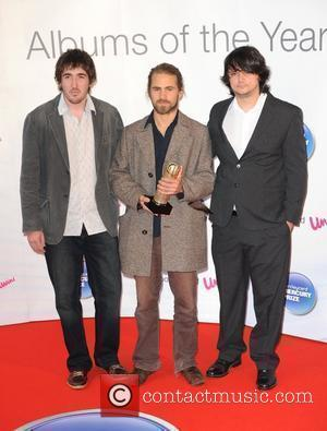Kit Downes Trio arriving at the 2010 Barclaycard Mercury Music Prize at the Grosvenor House Hotel in London, England -...