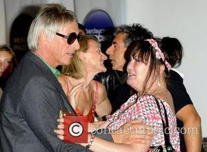Paul Weller and Janice Long