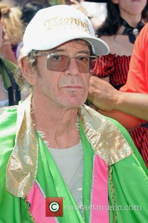 Lou Reed 2010 Mermaid Parade in Coney Island New York City, USA - 19.06.10