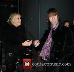 Nicole Appleton and Liam Gallagher,  at the Met Bar. London, England - 17.11.10