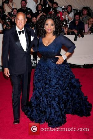 Oscar de la Renta and Oprah Winfrey The Costume Institute Gala Benefit to celebrate the opening of the 'American Woman:...