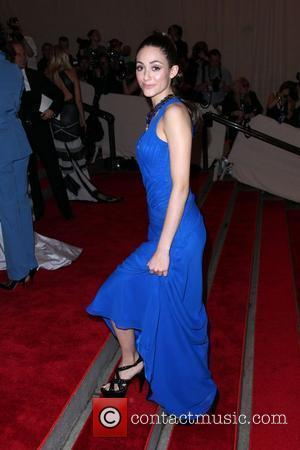 Emmy Rossum The Costume Institute Gala Benefit to celebrate the opening of the 'American Woman: Fashioning a National Identity' exhibition...
