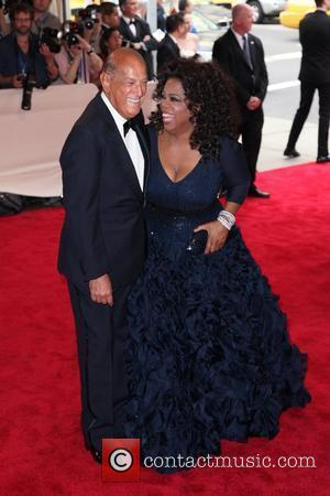 Oprah Winfrey and Oscar De La Renta