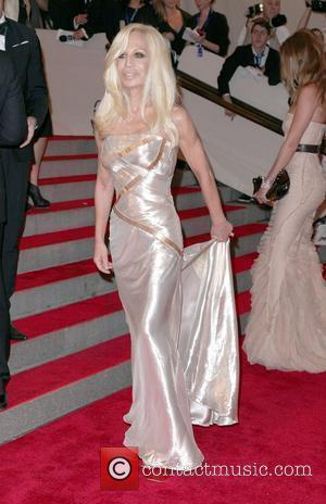Donatella Versace The Costume Institute Gala Benefit to celebrate the opening of the 'American Woman: Fashioning a National Identity' exhibition...