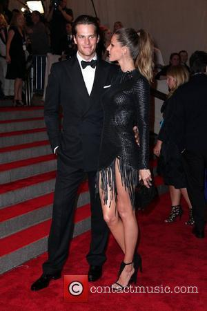 Tom Brady and Gisele Bundchen  The Costume Institute Gala Benefit to celebrate the opening of the 'American Woman: Fashioning...