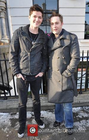 Danny O'Donoghue, Keith Barry 2010 Meteor Music Awards Nominees announcement held at The Mansion House. The Awards Show will be...
