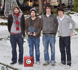 The Coronas 2010 Meteor Music Awards Nominees announcement held at The Mansion House. The Awards Show will be held at...
