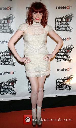 Florence Welch Meteor Ireland Music Awards at the RDS Dublin - Arrivals Dublin, Ireland - 19.02.10