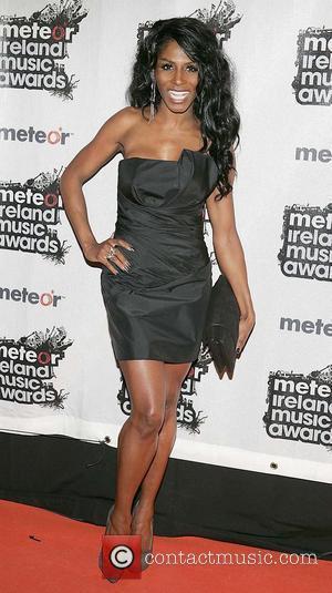 Sinitta Meteor Ireland Music Awards at the RDS Dublin - Arrivals Dublin, Ireland - 19.02.10