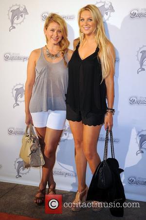 Lauren Bosworth and Stephanie Pratt  the Miami Dolphins Celebrity Orange Carpet at Sun Life Stadium in Miami Miami, Florida...