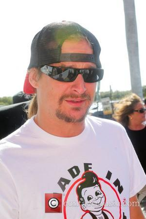Kid Rock  The Orange Carpet prior to the Detroit Lions vs the Miami Dolphins NFL Game at Sun Life...