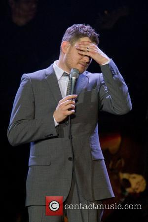 Michael Buble performing live at Pavilhao Atlantico Lisbon, Portugal 02.11.10