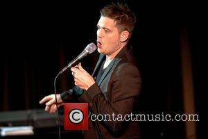 Buble Wearing Engagement Ring