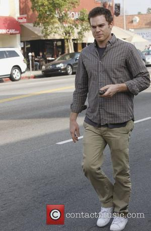 Michael C. Hall  is seen leaving Kings Road cafe in West Hollywood. Los Angeles, California - 14.12.10
