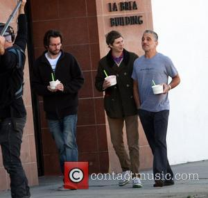 Michael Cera and Tony Danza are filmed eating frozen yogurt and visiting a comic book store in West Hollywood. Los...
