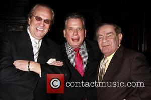Danny Aiello, Freddie Roman and Michael Feinstein