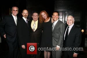 Danny Aiello, David Hyde Pierce, Freddie Roman and Michael Feinstein