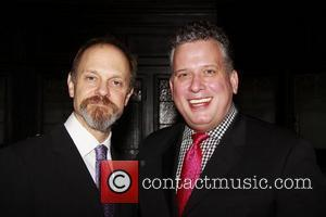 David Hyde Pierce and Billy Stritch  The Friars Club honors Michael Feinstein at the Friars Club on East 55th...