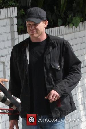 Michael C Hall  out shopping in Hollywood Los Angeles, USA - 18.02.10