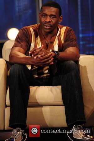 Three time super bowl champion Michael Irvin  during a live taping for the Yes network T. V. show 'Center...