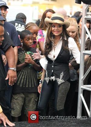 La Toya Jackson and Michael Jackson