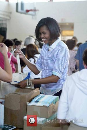 Michelle Obama First Lady Michelle Obama hosted a Congressional Service Event at the Kennedy Recreation Center, Washington DC, USA on...
