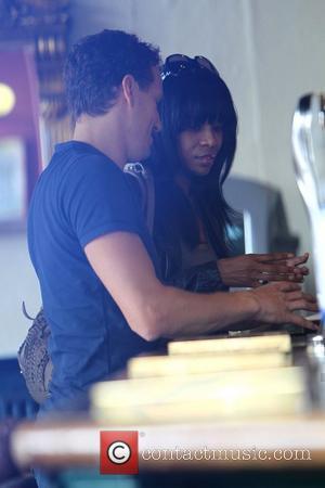 Michelle Williams and Brendan Cole