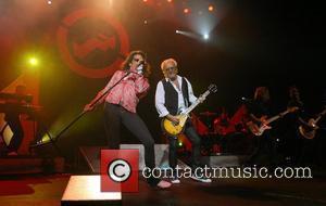 Mick Jones and Kelly Hansen