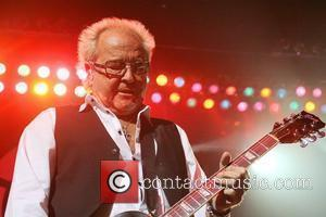 Mick Jones Foreigner performing live in concert at Hard Rock Live at the Seminole Hard Rock Hotel & Casino Hollywood,...