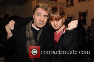 Glen Matlock, Mick Rock and Zak Starkey
